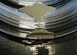 Nicht ganz dicht: Bei der Außenwasserdruck-Prüfung trat Wasser ein