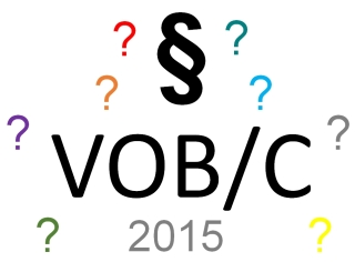 Workshop: Die neue VOB/C 2015