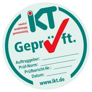 """Siegel """"IKT-Geprüft"""""""