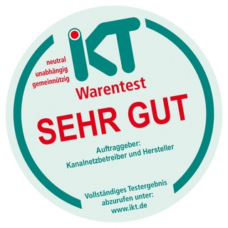 "Siegel ""IKT-Warentest"""