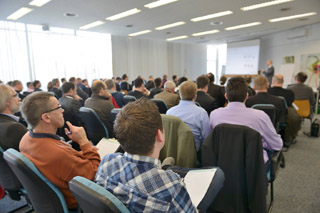 Volles Haus beim Workshop Betriebsführungssysteme und Kanaldatenbanken
