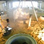 21 Abwasserschächte im Großversuchsstand