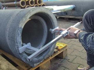 Vermessung von Beton- und Stahlbetonrohren