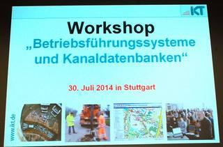 IKT Workshop Betriebsführungssysteme und Kanaldatenbanken Seminar 320