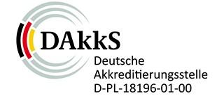 IKT ist vom DAkkS akkreditiert für Prüfungen an Schlauchlinern und Kunststoffen
