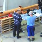 Vorbereitungen für Lehrgang Drosselkalibrierung laufen