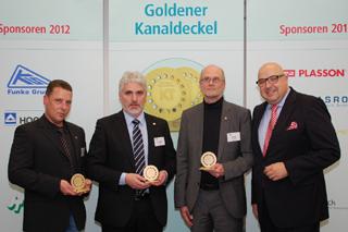 von links: Holger Hesse, Horst Baxpehler, Volker Jansen, Roland W. Waniek (IKT)