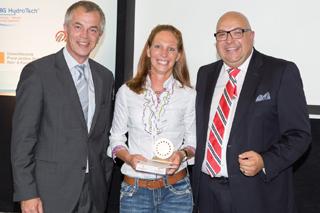 Qualitätssicherung im Kanalbau: Daniela Fiege hat's umgesetzt