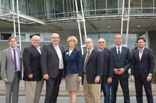 IRWA-Delegation und IKT-Gastgeber