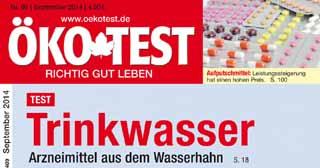 ÖKO-TEST: Arzneimittel aus dem Wasserhahn