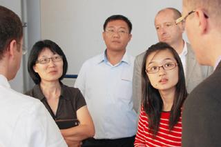 Besuch aus Singapur – IKT-Know-how ist gefragt