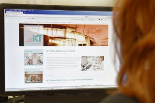 Englische Website des IKT mit neuem Gesicht