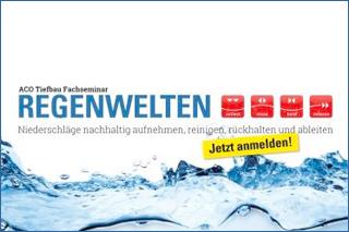 """ACO Tiefbau Roadshow """"Regenwelten"""""""