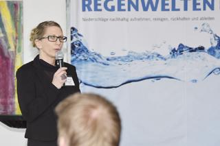 Heidi Schettner moderiert