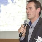 Dr. <b>Meeno Schrader</b> bei seinem Vortrag - gastveranstaltung-aco-regenwelten-meeno-schrader-1024-150x150