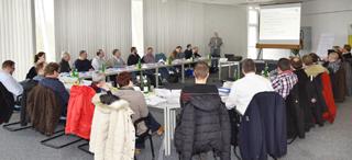 Teilnehmer im Vortragssaal