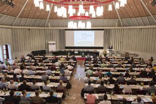 Tag der Grundstücksentwässerung im Maternussaal, Köln
