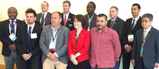 Gruppenbild der internationalen Teilnehmer an der IRWA-Konferenz
