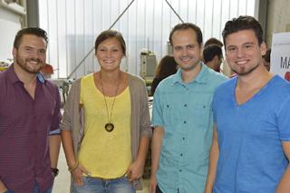 Sascha Freimann, Jill Baethke, Stephan Wisberg, Sissis Kamarianakis