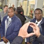 Qualität im Leitungsbau: Delegation aus Burkina Faso zu Gast im IKT