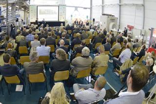 Publikum bei IKT-Congress