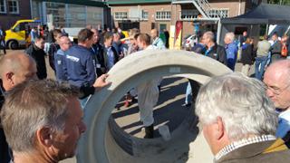 1. Niederländischer Praxistag Kanalreparatur – ein Riesenerfolg