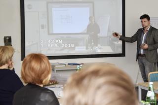 Videoanalyse der Teilnehmervorträge