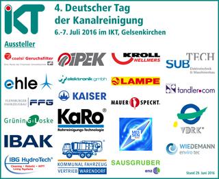 Aussteller 4. Deutscher Tag der Kanalreinigung