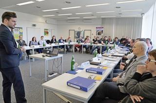 Workshop im Vortragssaal des IKT