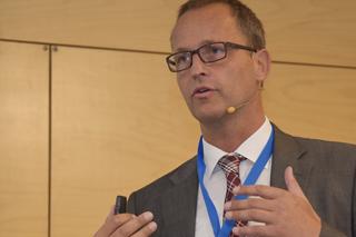 Bert Bosseler während seines Vortrags