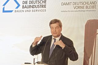 Ferlemann während seines Vortrags