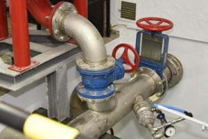 Anlagen in Pumpstation
