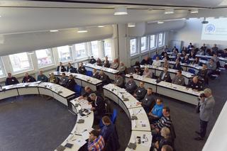 Voll besetzt: Der Ratssaal in Rheda-Wiedenbrück