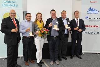 Goldener Kanaldeckel 2017 Preisträger