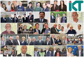 Kollage mit internationalen Freunden des IKT