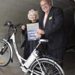 IKT gewinnt E-Bike bei Fotowettbewerb der B_I umweltbau