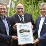 Neumitglied begrüßt: Hagebau jetzt im IKT-Förderverein