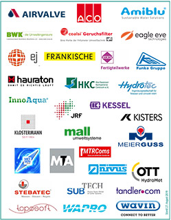 Logos der Aussteller beim StarkRegenCongress 2019