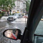 """Online-Expertengespräch """"Starkregenvorsorge"""" – Technik trifft Wirtschaft trifft Recht"""