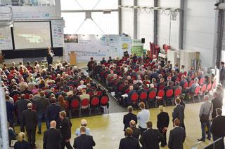 Auditorium des StarkRegenCongress SRC 2019 von hinten oben