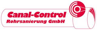 Logo Canal-Control rot auf weißem Hintergrund