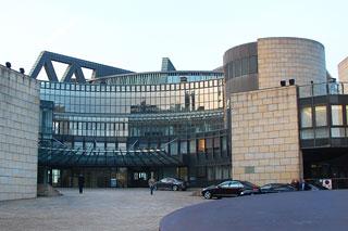 Eingangsbereich des Düsseldorfer Landtags