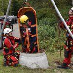 Rettung von Kanalarbeiter: Feuerwehr probt Ernstfall im IKT