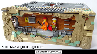 Lego-Set Entwurf Kanalisation