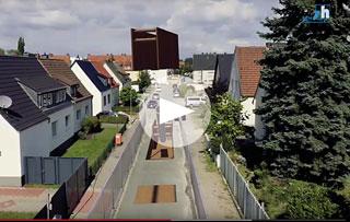 Standbild aus Informationsfilm Kanalbaustelle